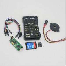 Pixhawk PX4 2.4.6(2.4.5) 32 bit ARM Flight Controller & 4G TF Card & Mega MinimOSD for RC Multicopter