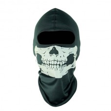 COD6 Skull Ghost Outdoor CS Airsoft Paintball Dust-proof Scarf Cycling Face Mask