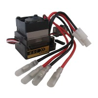 320A High Voltage Brushed ESC Speed Controller for 1/10 4WD off-road Car Truck
