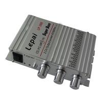 Mini Hi-Fi Audio Stereo Amplifier Amp mp3 iPod Car Motorcycle 12V LP-268 Speaker