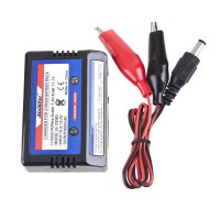 Intelligent Balance Charger External Battery Portable Charger + Power Supply For 7.4V/11.1V Lithium Polymer Battery Black