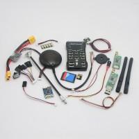 Pixhawk PX4 2.4.6(2.4.5) 32 bit ARM Flight Controller & NEO-6M GPS/8G TF Card/Led External/PPM/PM Module/915Mhz DTM for RC Multicopter