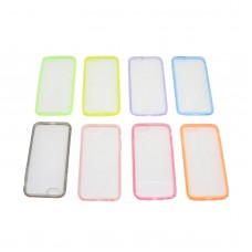 "4.7"" inch T6 PC+TPU Ultra Thin Back Transparant Case Shell for iPhone 6 plus 4.7"