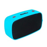 KB-200 Mini Wireless Bluetooth V2.0 Speaker w/ Hands-free / FM / TF / USB / 3.5mm Blue