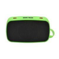 KB-200 Mini Wireless Bluetooth V2.0 Speaker w/ Hands-free / FM / TF / USB / 3.5mm Green