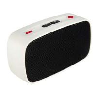KB-200 Mini Wireless Bluetooth V2.0 Speaker w/ Hands-free / FM / TF / USB / 3.5mm White