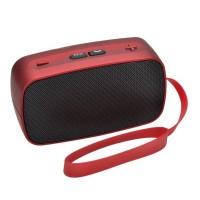 KB-200 Mini Wireless Bluetooth V2.0 Speaker w/ Hands-free / FM / TF / USB / 3.5mm Red