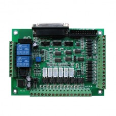 3 4 5 6 Axis High Speed Optocoupler CNC Machine Tool Interface Board MACH3 Carving Machine CNC Interface Card
