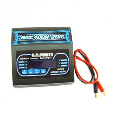 G.T. Power A620 400W 20A DC Balancing Charger 1-6S Charge for RC Hobby