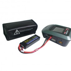 Square Lipo Battery Protection Case Explosion-proof Bag for RC Hobby Battery