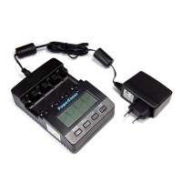 Powerfocus BC1000 2.0 Version Digital LCD NiMH AA/AAA Battery Charger