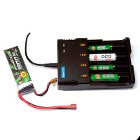 POWERFOCUS I4 Pro All in One Li-ion Ni-MH Ni-Cd Battery Charger 24w