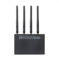 Boscam FPV 5.8G Receiver Boscam 4 in 1 D58-4 Audio Video Diversity Receiver