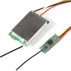 2.4G 500mw Wireless AV Transmitter + Video AV Receiver Module Set for FPV Telemetry