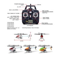 Syma F3 RC Helicopter Toys Gift Metal 4CH LCD Remote Control RC Single Rotor Helicopter With Gyro 2.4G Remote Control Helicopter
