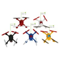 33022 Mini Quadcopter 2.4G 4CH 6 Axis Gyro 3D RC Remote Control UFO Helicopter