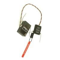 AR6210 6-Channel DSMX 2.4GHz Receiver Ultralite Set for JR SPEKTRUM DSM-X DSM2