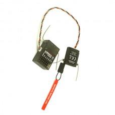 AR6210 6-Channel DSMX 2.4GHz Receiver Ultralite Set for JR SPEKTRUM DSM-X DSM2