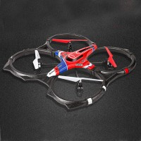 SYMA X6 Super Ship 2.4G 4CH 6 AXIS Remote Control Quadcopter RC Helicopter Toys Present A Universal Adapter Plug