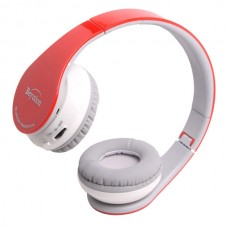 New Wireless Stereo Bluetooth 4.0 Headphones for all Cell Phone Laptop PC Tablet Red