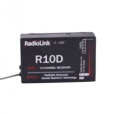 Radio link R10D 10ch DSSS receiver for AT10 2.4G 10 Channel Radio System