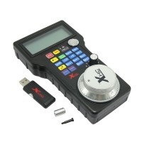 Wireless Handwheel USB MPG Pendant for CNC Mac.Mach 3 / 4 axis Engraving Router Machine