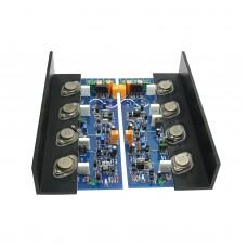 MJ2001 High 200W Power Amplifier Board Class A Amplifier MJ11032 MJ11033 Assembled Amplifier Board