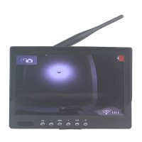 7Inch Monitor 5.8G Reciever LED Portable Display 4h Lasting Time w/ 14DB Pad Antenna for FPV Photography