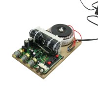 No Noise/Large Power Four Tube Amplifier 220V Amplifier Board/ Fan Loudspeaker Box Computer Amplifier