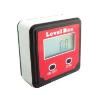 XB-90 1.4'' Digital Level Box Level Angle Gauge Protractor Inclinometer Angle Gauge Meter- Red