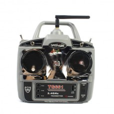 Spring TG661 2.4GHz Radio Control System 6 Channel TX w/ RG661 RX 2.4G Receiver