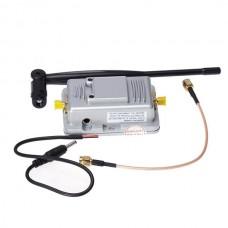 1W 2.4GHz Wireless 802.11b/g Wi-Fi Signal Booster AP / WLAN Bi-directional Amplifier - Silver