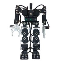 19DOF Humanoid Dancing Robot Biped Walking Robot for Teaching Competition (Full Frame Kits)