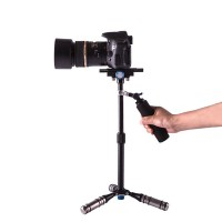 DSL-05 Aluminum Alloy Handle Stabilizer Camera Holder Monopod for 5D2 5D3 60D DSLR Camera Photography