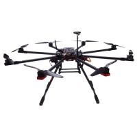 TopSkyRC T900 Octacopter Carbon fiber Frame Kit w/ Motor& ESC & Prop & V2 & Radio & Charger & Case & Landing Gear (RTF)