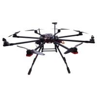 TopSkyRC T900 Octacopter Carbon fiber Frame Kit w/ Motor & ESC & Prop & Case & Retractable Landing Gear