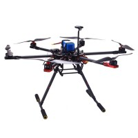 TopSkyRC T750 Hexacopter Carbon Fiber Frame Kit w/ Retractable Landing Gear for FPV Photography