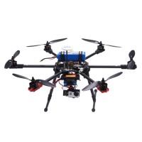 TopSkyRC T700 Hexacopter Carbon Fiber Frame Kit w/ Motor & ESC & Prop & DOS Controller & Radio & Charger (RTF)