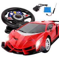 Convertible Car Gravity Sensing Athletic Boy Toy Remote Control Car Steering Wheel