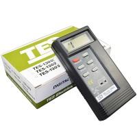TES1310 Digital Thermometer Temperature Reader Meter Sensor 2 k-type probe
