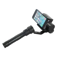 TRD Aluminum Alloy 3 Axis Brushless Handle Stabilizer Cam Mount Phone Holder
