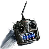 "Walkera 12ch Radio Transmitter DEVO12S 4.7"" Touch Screen w/ RX1202 Receiver & Aluminium Case"
