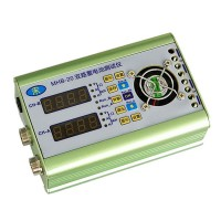 Dual Channel Battery Discharger Capacity Resistance Tester Lead Acid Battery Tester