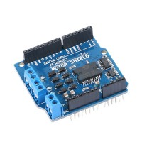 Arduino DC Motor Driving Develop Board Expansion Board L298P Driving Module H Bridege for Smart Car