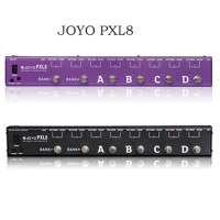 JOYO PXL8 foot Pedal Controller for Electric Guitar True Bypass Purple/ Black