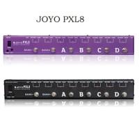 JOYO PXL8 foot Pedal Controller for Electric Guitar True Bypass Purple/ Black
