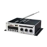 Lepy LP-V9S Hi-Fi Stereo Power Leipai Digital Amplifier USB SD DVD CD FM MP3 w/ Remote & 5A Power Supply
