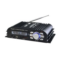 Lepy LP-600 Hi-Fi Mini Audio 25W*2 Amplifier with USB SD MP3 and 3A Power adapter