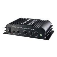 Lepy LP-168HA 2.1 12V Power Amplifier w/ 5A Power Super Bass 40W*2+68W Amp USB Output