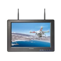 Feelworld FPV-121DT 12'' LCD Built-in Dual Antenna 5.8GHZ 32CH FPV Ground Monitor HDMI 1080P for DJI Gopro Hero 3+